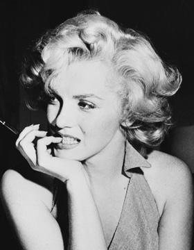 Marilyn-Monroe-Frisur-