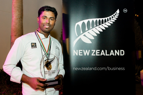 Prabakaran Manickam - Taste New Zealand 2014 Winner
