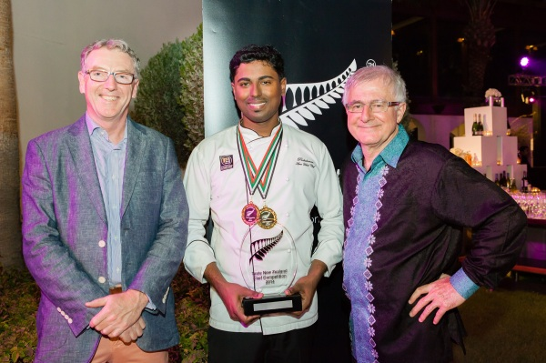 Trade Commisioner Steve Jones, Prabakaran Manickam, Minister Tim Groser