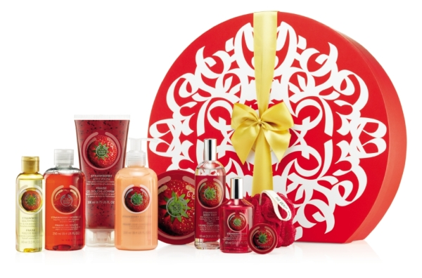 1022373 Strawberry Large Gift Box