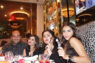 Patrick Sawaya the famous photographer, Maya Shokr from Playing with Fashion, Aline Chirinian from Nouchaline, and Elsa from Pretty Capricieuse