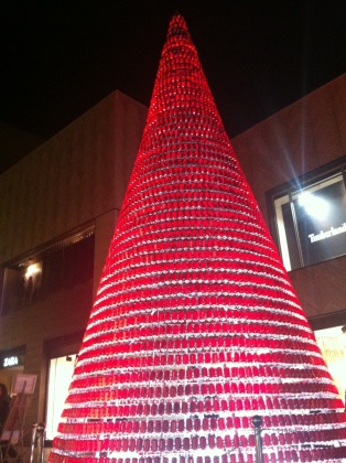 Coca COla Christmas Tree